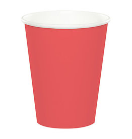 Creative Converting Coral - Cups, Paper 9oz