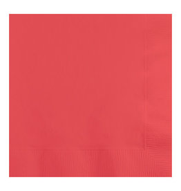 Creative Converting Coral - Napkins, Dinner 50ct