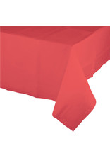 Creative Converting Coral - Tablecover, Plastic 54x108
