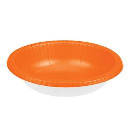 Creative Converting Sunkissed Orange - Bowls, Paper 20ct