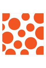 Creative Converting Sunkissed Orange - Napkins, Beverage Chevron/Dot 16ct