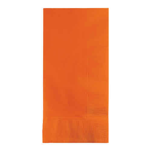 Creative Converting Sunkissed Orange - Napkins, Dinner 50ct