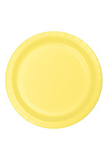"""Creative Converting Mimosa - Plates, 7"""" Round Paper 24ct"""