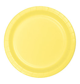 """Creative Converting Mimosa - Plates, 9"""" Round Paper 24ct"""