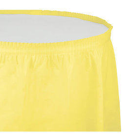 Creative Converting Mimosa - Tableskirt, 14' Plastic