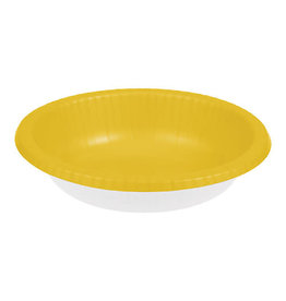 Creative Converting School Bus Yellow - Bowls, Paper 20ct