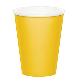 Creative Converting School Bus Yellow - Cups, 9oz Paper 24ct