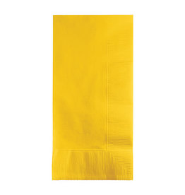 Creative Converting School Bus Yellow - Napkins, Dinner 50ct