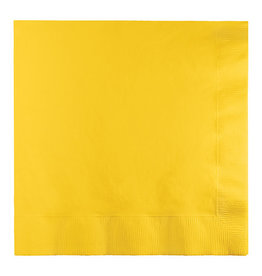 Creative Converting School Bus Yellow - Napkins, Luncheon 50ct