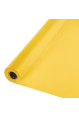 Creative Converting School Bus Yellow - Table Roll, 100' Plastic