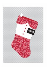 Ringmasters Card & Envelope - Sister Missionary Stocking