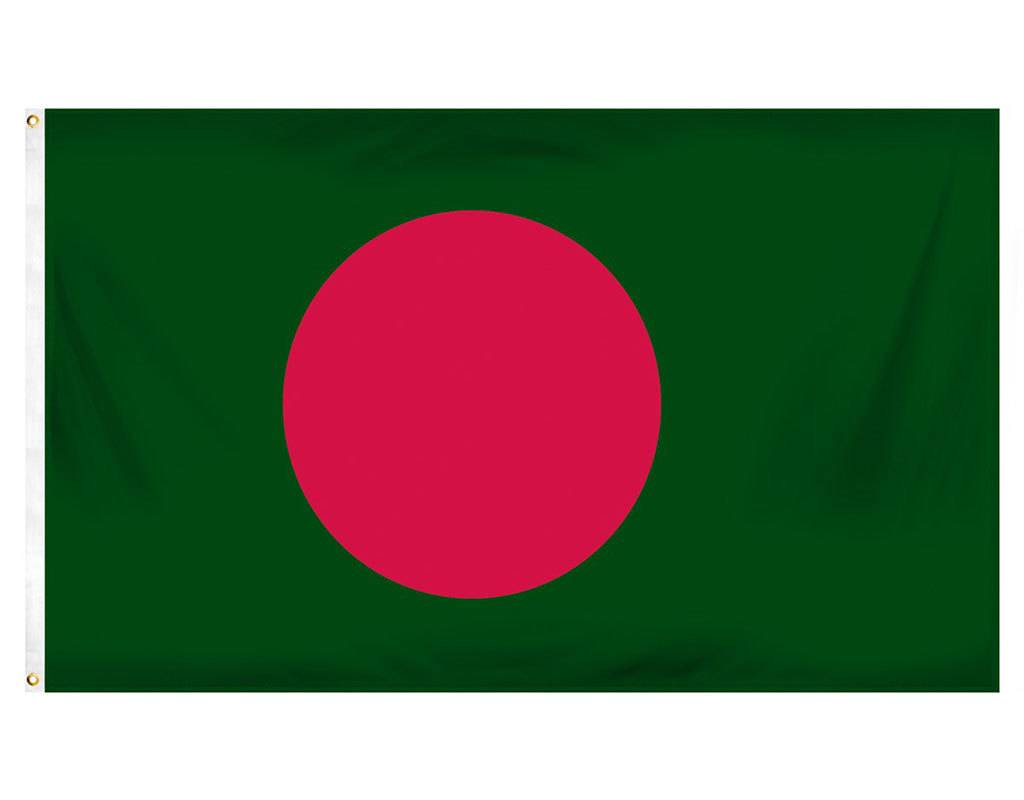 Popcorn Tree Flag - Bangladesh 3'x5'