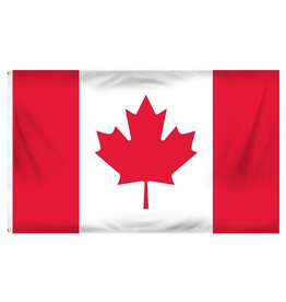 Popcorn Tree Flag - Canada 3'x5'