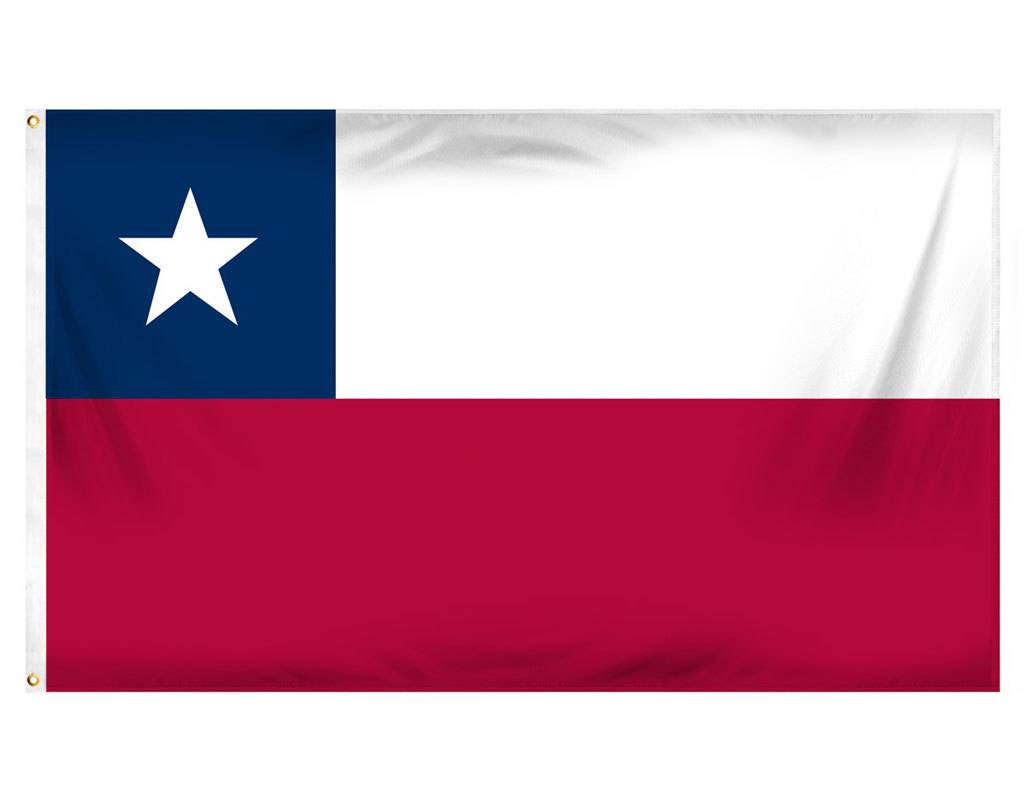 Popcorn Tree Flag - Chile 3'x5'
