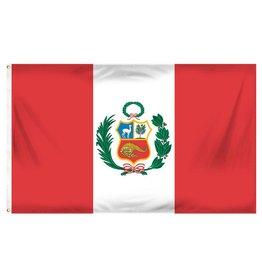 Popcorn Tree Flag - Peru 3'x5'
