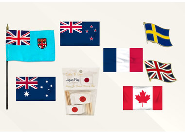 Flags - International Missions