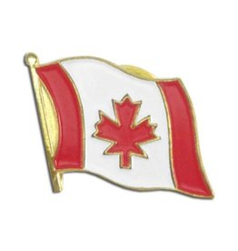 Popcorn Tree Lapel Pin - Canada Flag