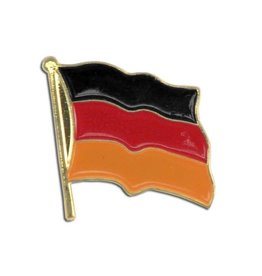 Popcorn Tree Lapel Pin - Germany Flag