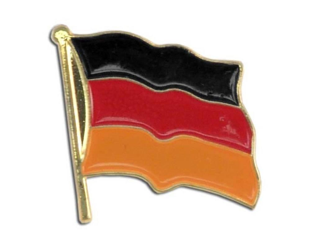 Popcorn Tree Lapel Pin - Germany Flag