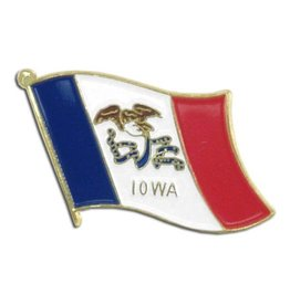 Popcorn Tree Lapel Pin - Iowa
