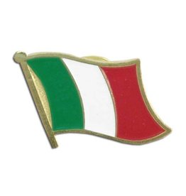 Popcorn Tree Lapel Pin - Italy Flag