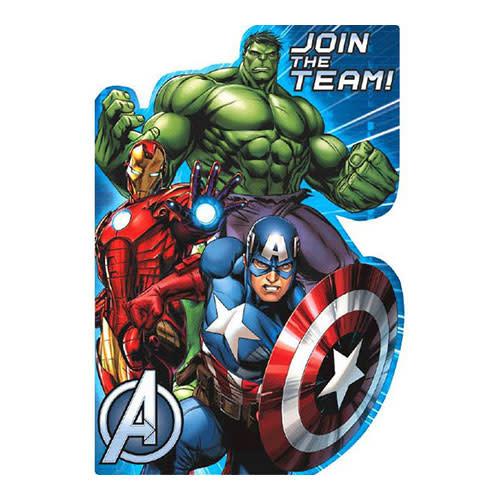 Avengers - Invitations