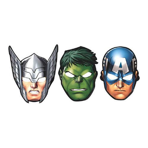 Avengers - Masks