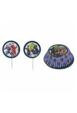 Marvel Avengers - Cupcake and Picks Pack