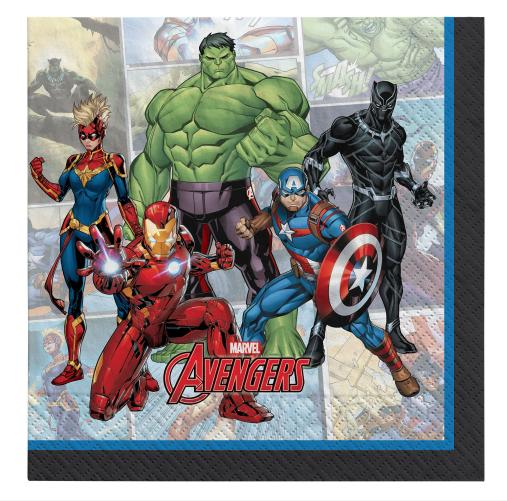 Marvel Avengers Powers Unite™ Luncheon Napkins