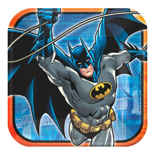 "Batman - Plates, 9"" Square"