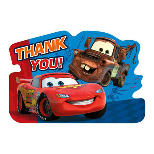 Cars - Thank Yous (Cars 2)