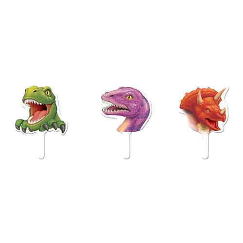 Creative Converting Dino Blast - Cupcake Toppers