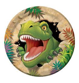 "Creative Converting Dino Blast - Plates, 9"" Dinner"