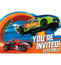 Hot Wheels - Invitations
