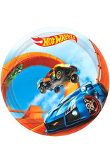 "Hot Wheels Wild Racer - Plates, 7"" Dessert"