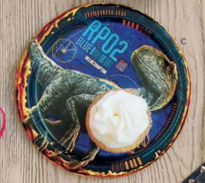 """Unique Jurassic World 2 - 7"""" Plate"""