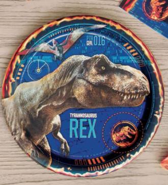 """Unique Jurassic World 2 - 9"""" Plate"""