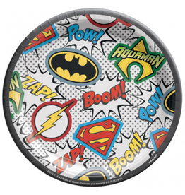 """Justice League - 7"""" Plates"""