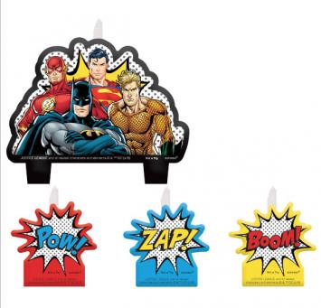 Justice League - Candle Set