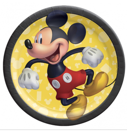 """Mickey Mouse - Forever 7"""" Plates"""