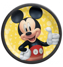 """Mickey Mouse - Forever 9"""" Plates"""