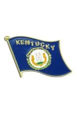 Popcorn Tree Lapel Pin - Kentucky Flag