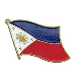 Popcorn Tree Lapel Pin - Philippines Flag