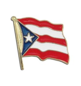 Popcorn Tree Lapel Pin - Puerto Rico