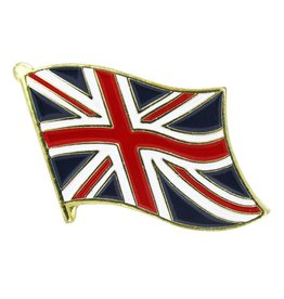 Popcorn Tree Lapel Pin - United Kingdom Flag