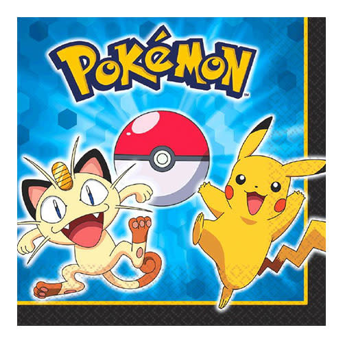 Pokemon - Napkins, Luncheon