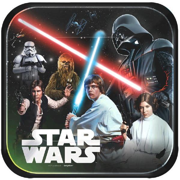 """Star Wars - Classic - 9"""" Plates"""