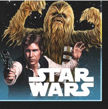Star Wars - Classic - Beverage Napkins