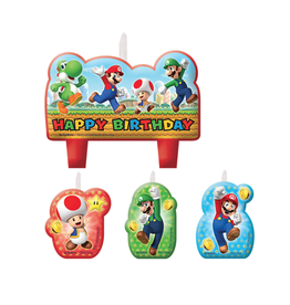 Super Mario - Candle Set