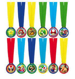 Super Mario Brothers - Award Medals, Mini